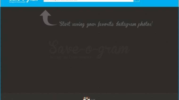 Hogyan töltsük le az instagramos fotókat? kép