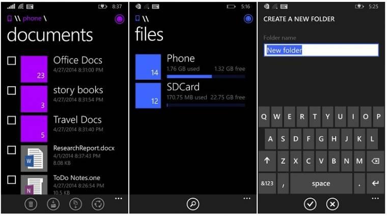 Végre fájlkezelőt kap a Windows Phone kép