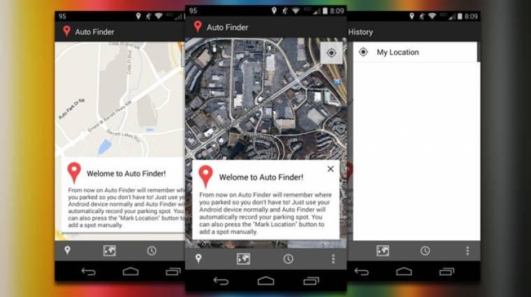Hogyan találjuk meg a leparkolt autónkat az Androiddal? kép