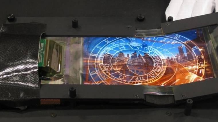 Gyűrhető OLED kijelzővel újított a Nokia kép