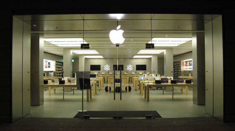 Apple-bolt nyílik Prágában kép