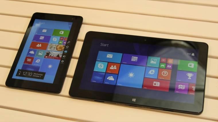 Olcsóbbak lesznek a windowsos tabletek kép