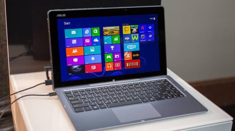 Intel processzorokra váltanak az ASUS táblagépei kép