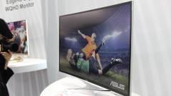 Itt a világ legnagyobb hajlított monitora kép