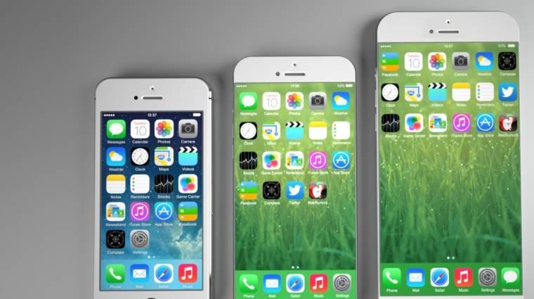Mégis befuthat szeptemberben a nagy iPhone 6 kép