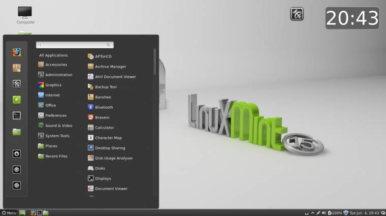 Máris frissült a Linux Mint 17 kép