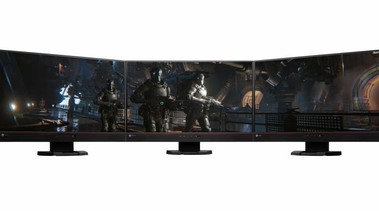 Komoly gamer monitor az EIZO műhelyéből kép