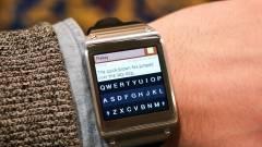 Már SMS-t is írhatunk a Samsung okosórájáról kép