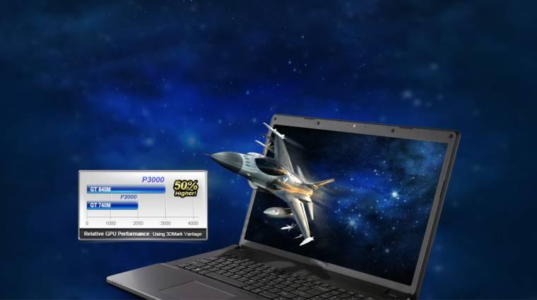 Gigabyte Q2756N v2, a prémium laptop kép