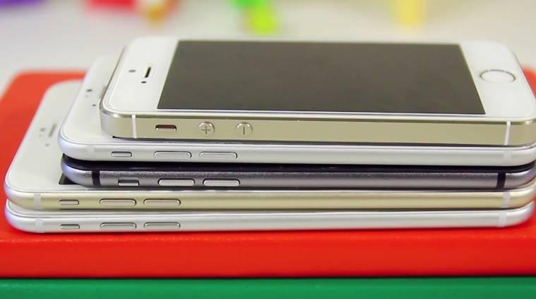 Így fest az iPhone 6 a Galaxy Note 3 mellett kép