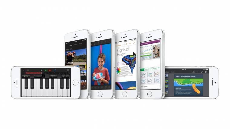 Megint rekordmennyiségű iPhone-t veszünk kép