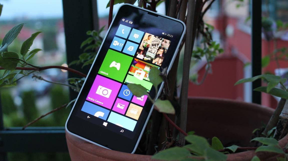 Nokia Lumia 630 teszt - pont elég kép