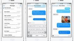 Hogyan hívjunk valakit az iOS 7 Üzenetek appjából? kép