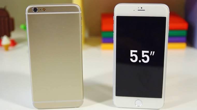 Szeptember 19-től kapható az iPhone 6 kép