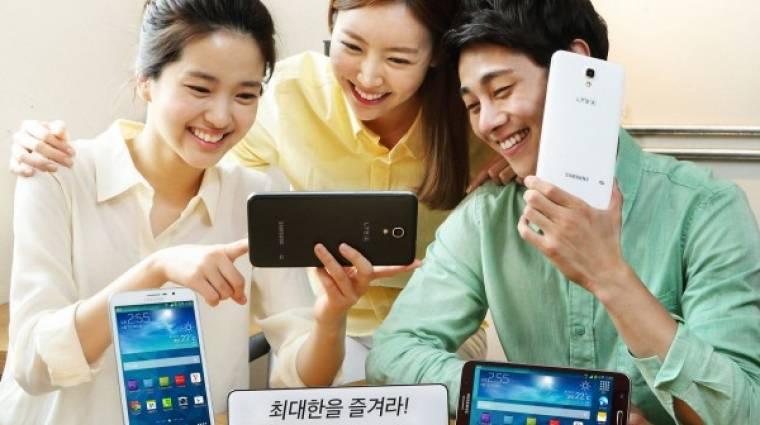 Elképesztően nagy a Samsung új okostelefonja kép