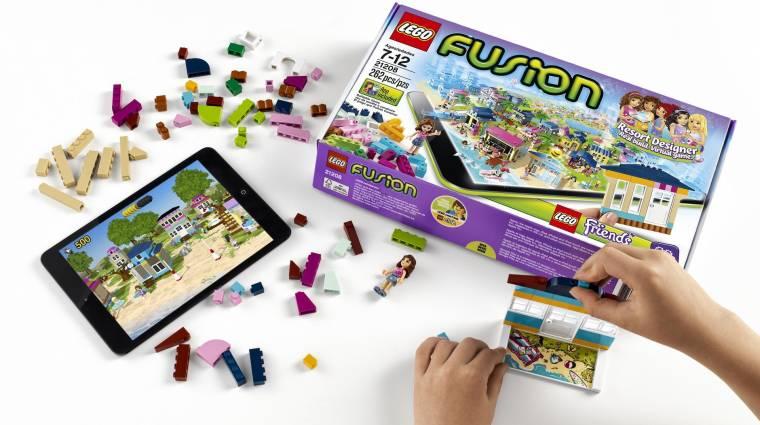 Tableteken tárolhatjuk LEGO-alkotásainkat kép