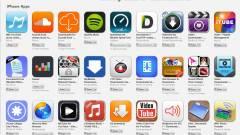 A zenés appok gyilkolásába kezdett az Apple kép