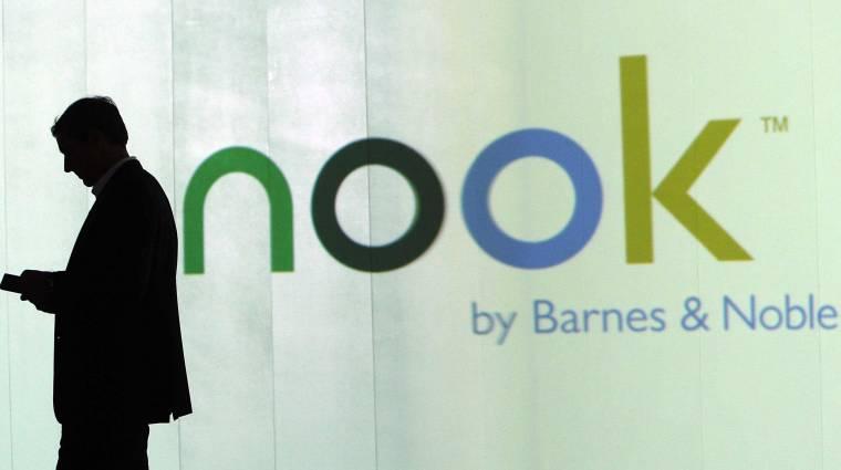 Kettészakad a Barnes & Noble kép