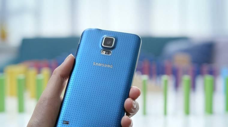 Gyorsabb és szebb kijelzőjű Galaxy S5-öt mutatott be a Samsung kép