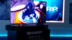 Új 4K-s tévéket mutatott be a Sharp kép