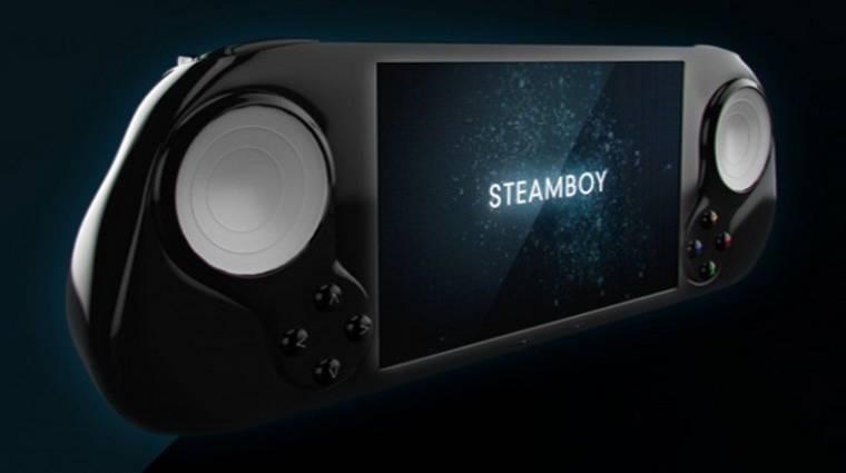 Jön a Steamboy Machine? kép