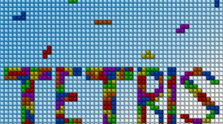 Harminc gyertya ég a Tetris tortáján kép