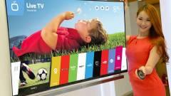 Egymillió nappaliban szórakoztatnak az LG WebOS tévéi kép