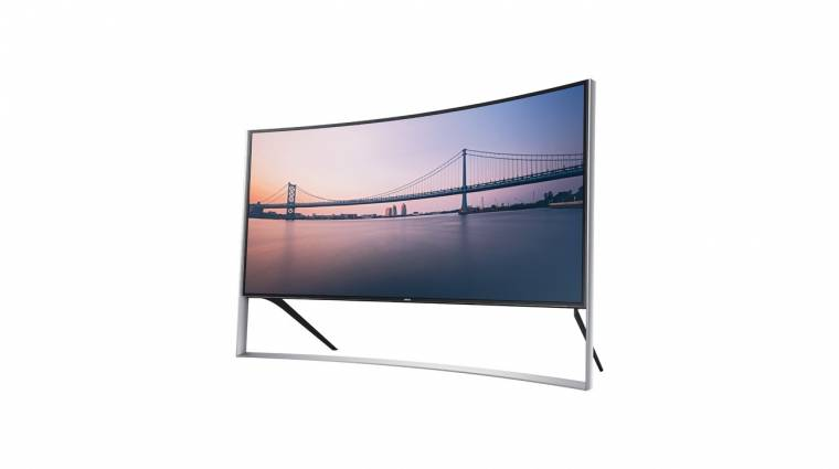 Hihetetlenül sokba kerül a Samsung hajlított tévéje kép