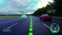 Videojátékot csinált az autók szélvédőjéből a Jaguar kép