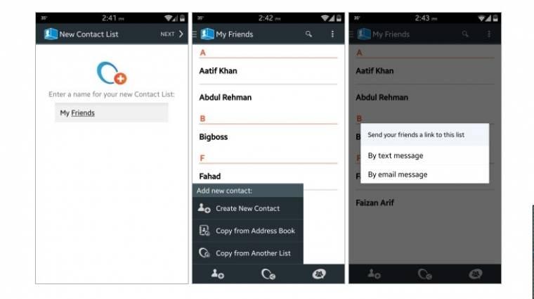 Hogyan osszunk meg névjegyeket Android és iOS között? kép