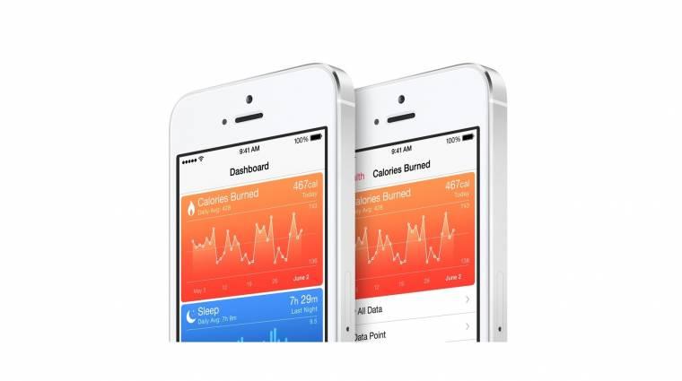 A lépéseinket is számolja az iOS 8 kép