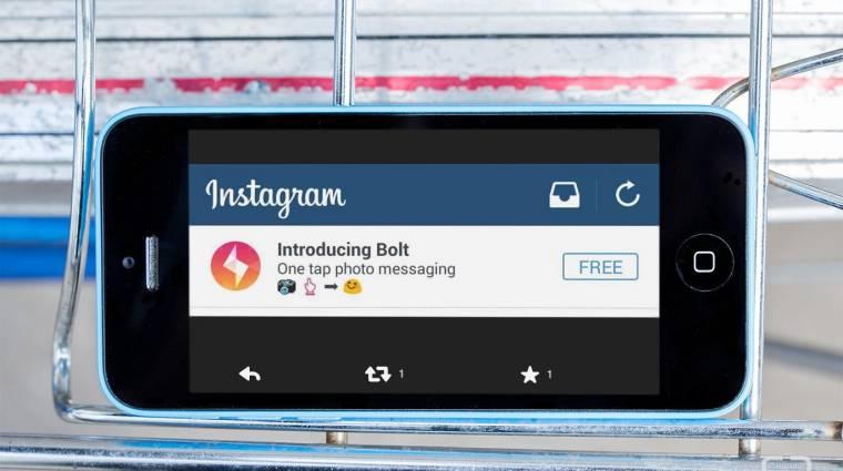 Itt az Instagram új üzenetküldő alkalmazása kép