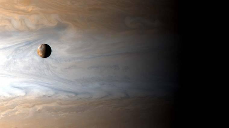 A NASA lézerfúróval törné fel az Európa jegét kép