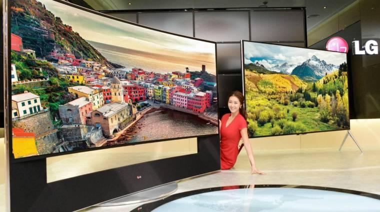 Szárnyalnak az LG telefonjai és tévéi kép