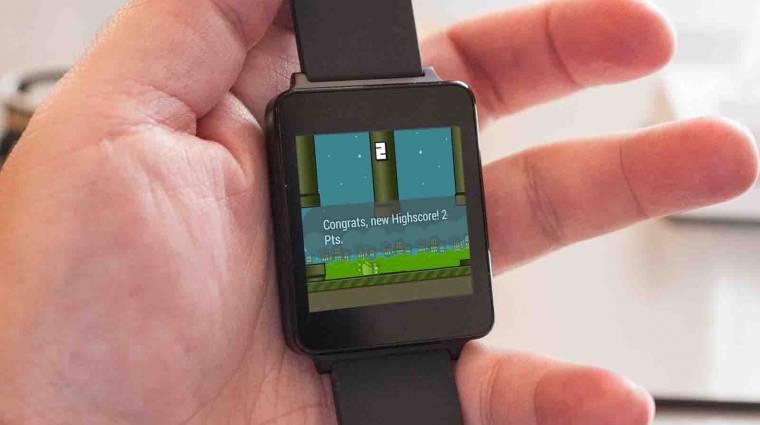 Appok és hackek érkeztek az Android Wear-re kép