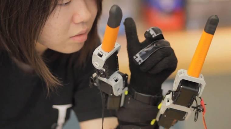 Kétujjas segítség: robotkesztyűt fejleszt az MIT kép