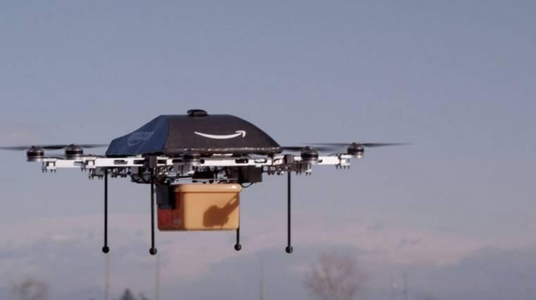 Szupergyors drónokat tesztel az Amazon kép