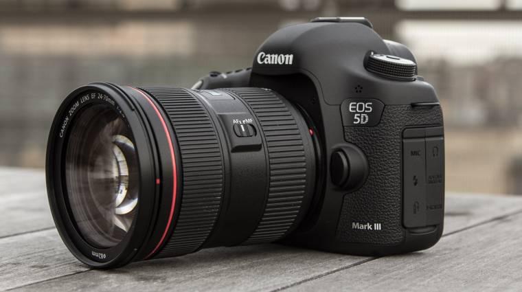 4K-val újít a Canon EOS 5D Mark IV kép