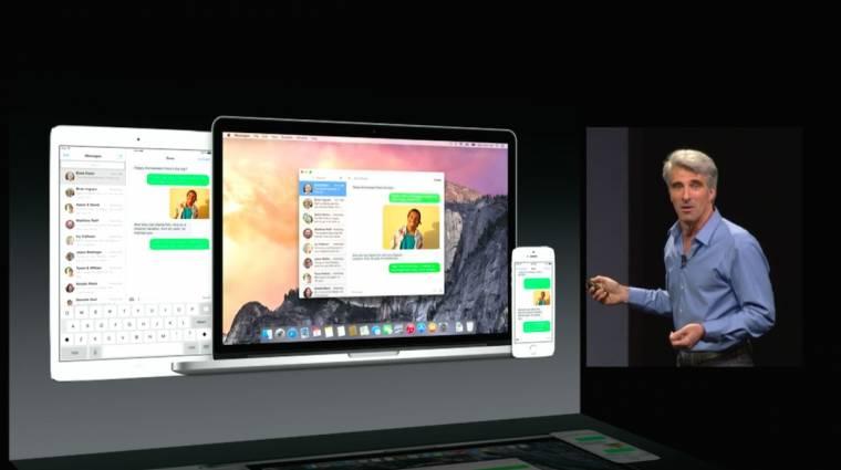 Már most nagy siker az OS X Yosemite kép