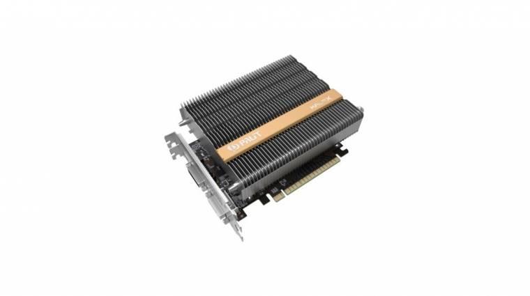 Itt az első passzív GeForce GTX 750 kép