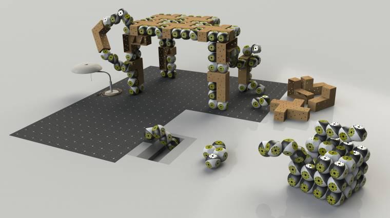 Alakváltó robotbútorok készülnek Svájcban kép