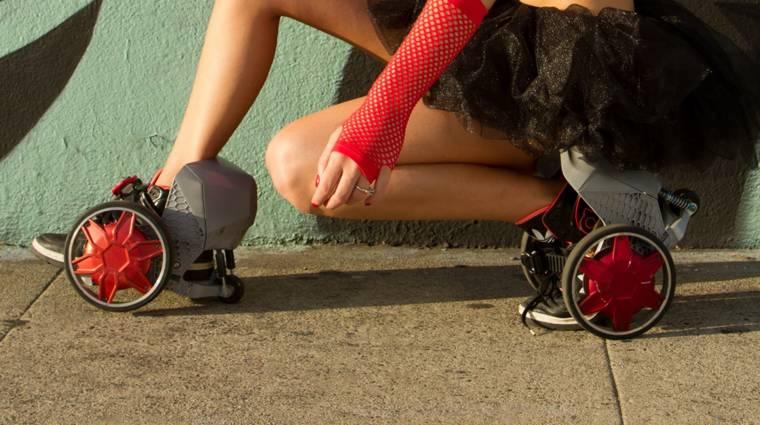 A görkorcsolyák új generációja: a RocketSkate kép