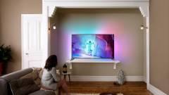 Androiddal jön a Philips 4K-s Ambilight tévéje kép