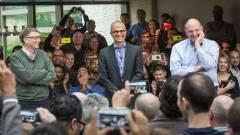 Ballmer szemetét takarítja a Microsoft kép