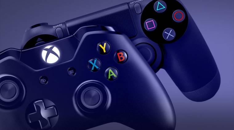 Nem tud a PlayStation 4 közelébe érni az Xbox One kép
