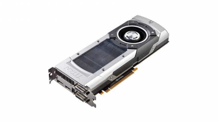 Már tesztelik a GeForce GTX TITAN II-t kép