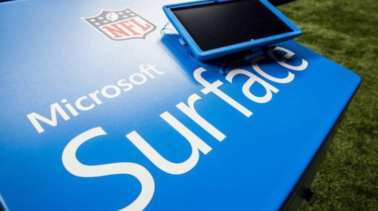Már az NFL-ben is Surface Pro-t használnak kép