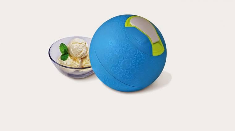 Fagylaltkészítés játék közben kép