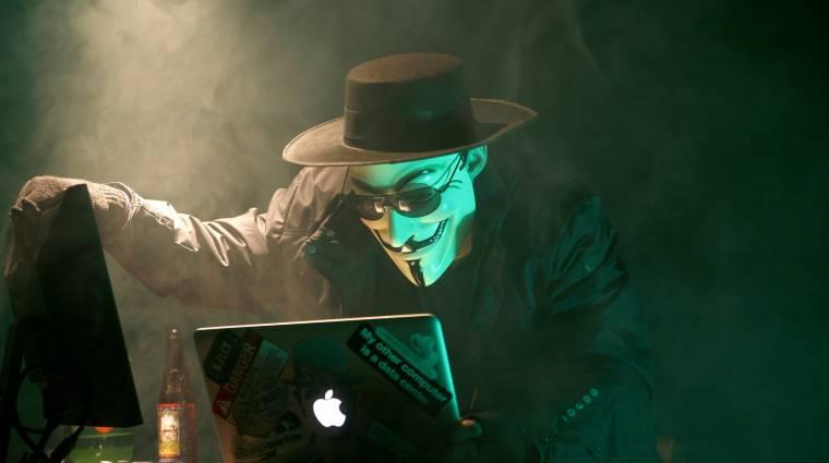 Izraeli kormányzati oldalakat vadászott le az Anonymous kép