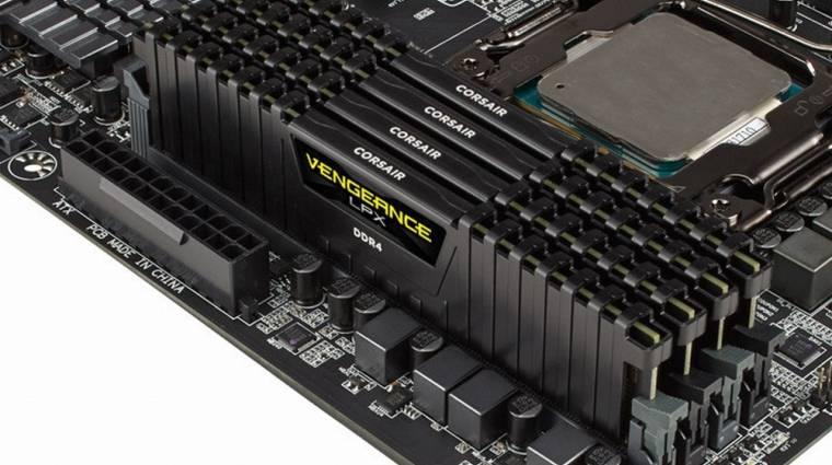 Érkeznek a Corsair Dominator Platinum DDR4-es memóriák kép